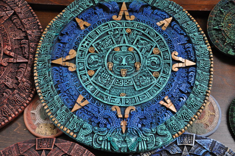 墨西哥工艺品 库存照片