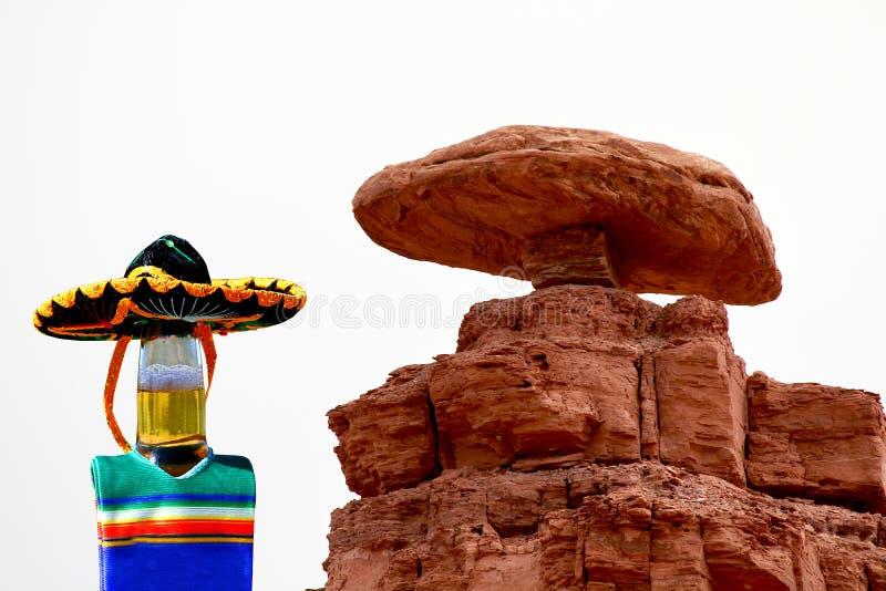 墨西哥帽,犹他Cinco de马约角庆祝 库存图片