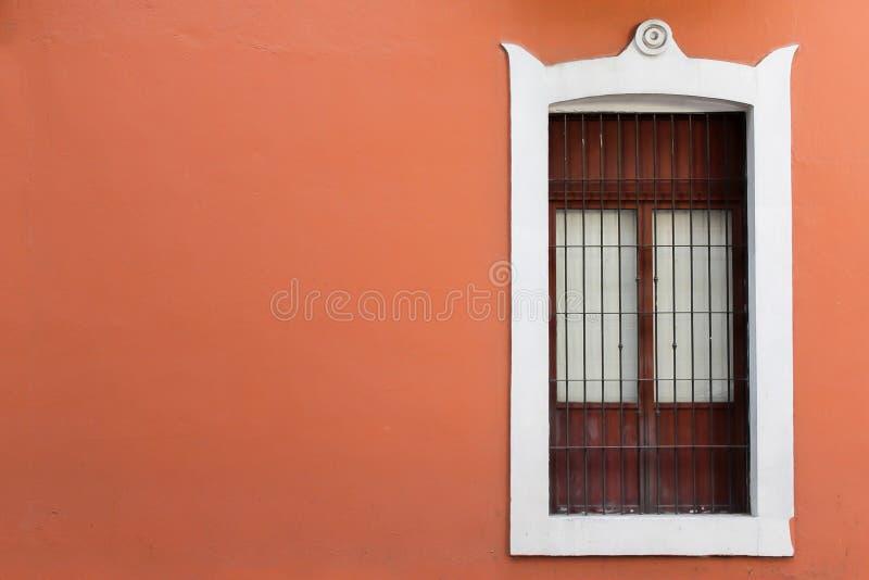 墨西哥房子门面,天使的普埃布拉 库存图片