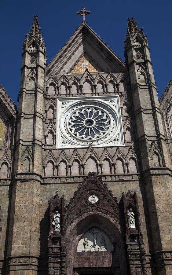 墨西哥教会 免版税库存照片
