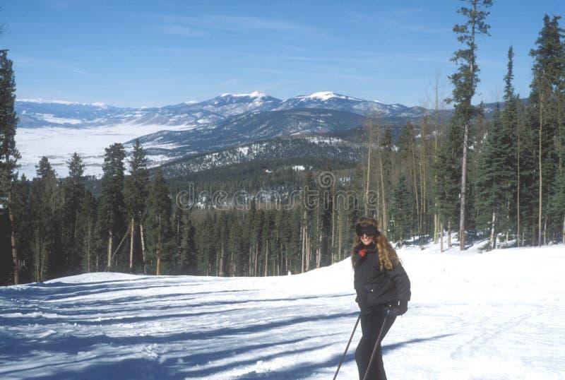 墨西哥新的滑雪 库存图片