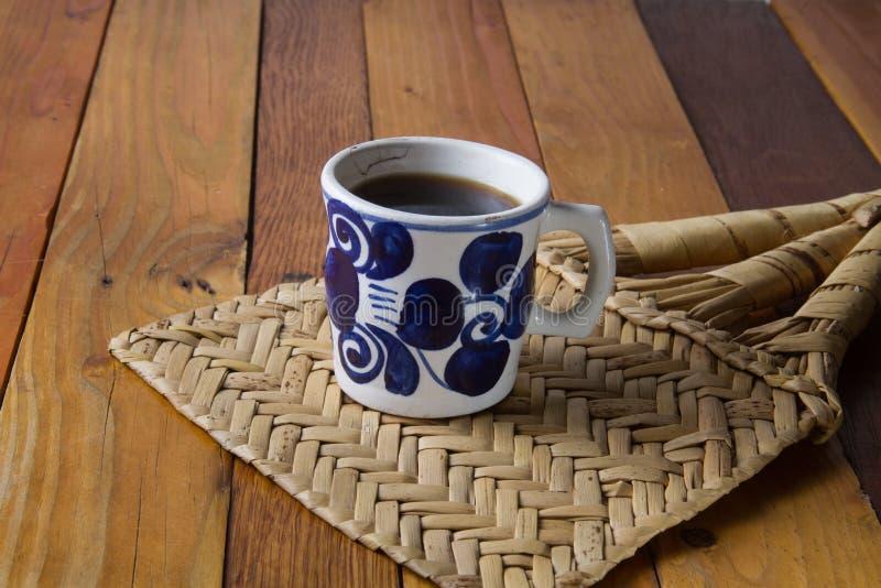 墨西哥无奶咖啡 免版税库存照片