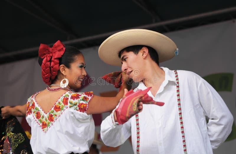 墨西哥民俗的芭蕾 免版税库存照片