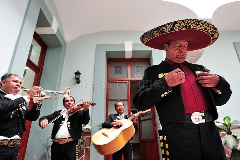 墨西哥流浪乐队结合 库存图片