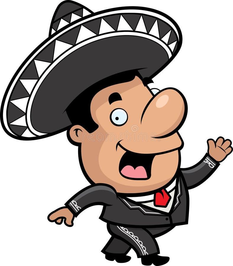 墨西哥流浪乐队 库存例证