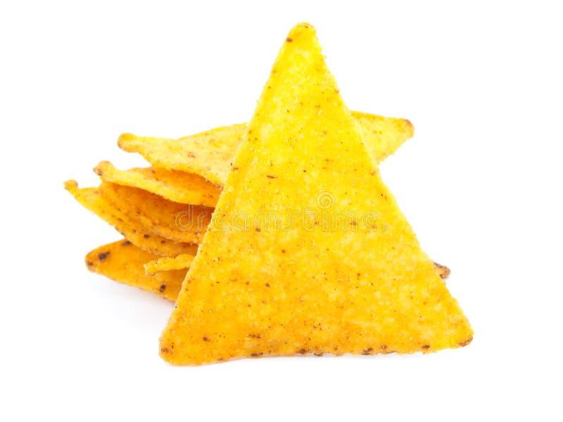 墨西哥烤干酪辣味玉米片 免版税库存照片