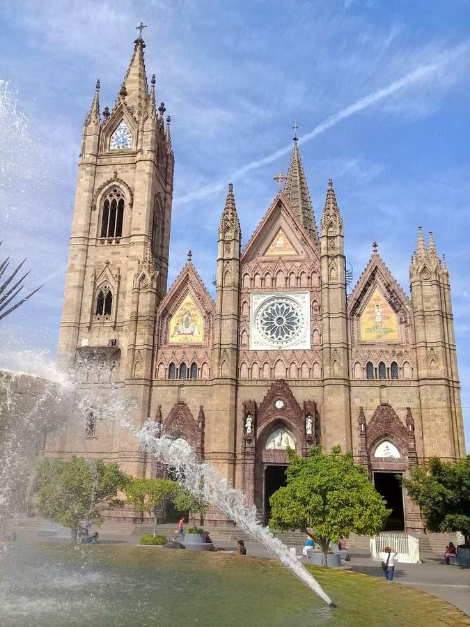 墨西哥瓜达拉哈拉贾利斯科省的埃莫萨邮政 免版税库存照片