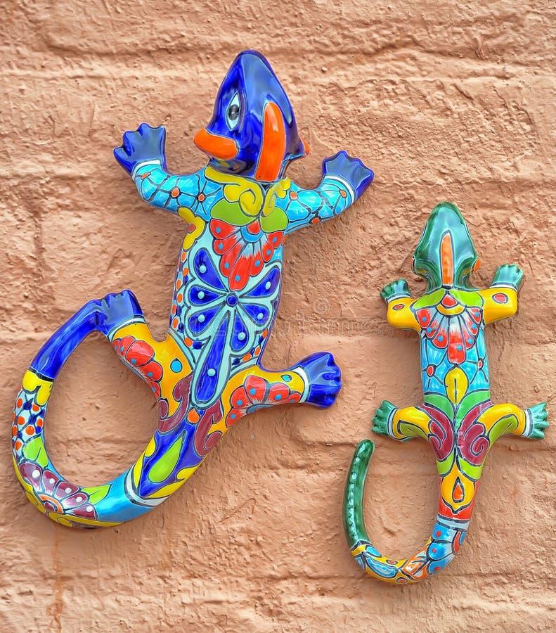 墨西哥瓦器蜥蜴 图库摄影