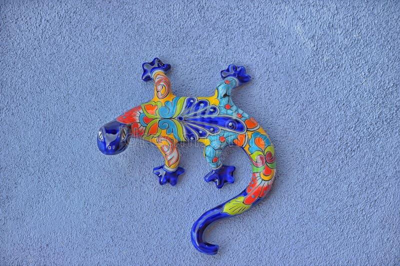 墨西哥瓦器蜥蜴 免版税库存图片