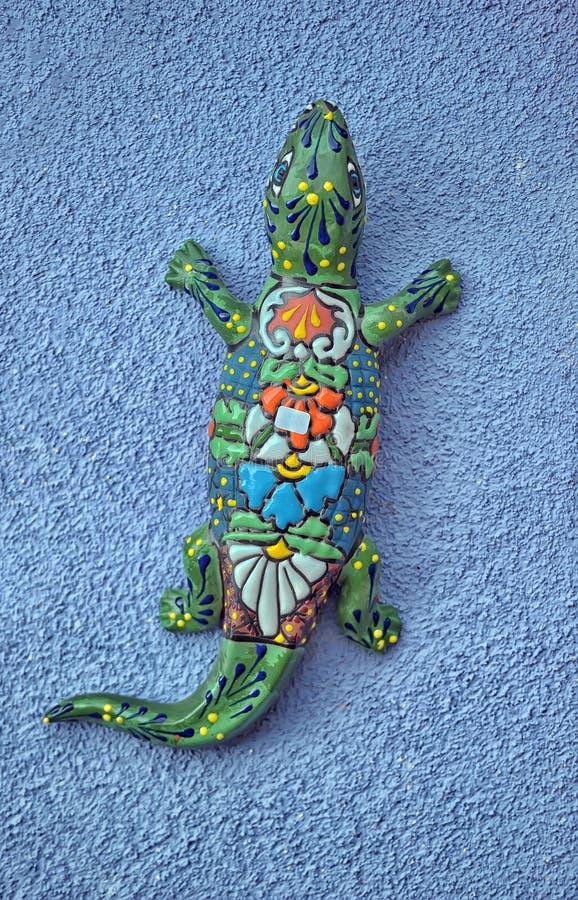 墨西哥瓦器蜥蜴 库存图片