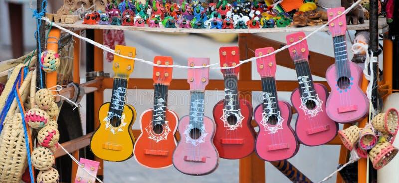 从墨西哥的吉他 免版税库存照片