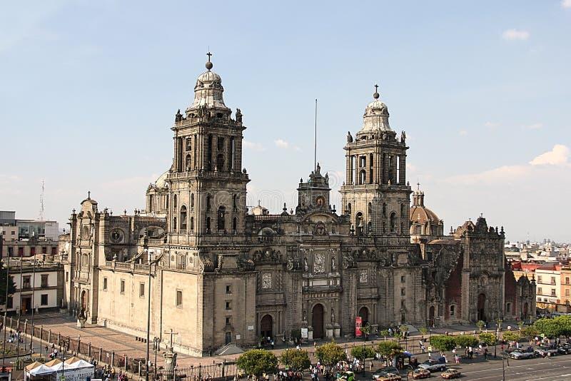 墨西哥的大教堂 库存照片