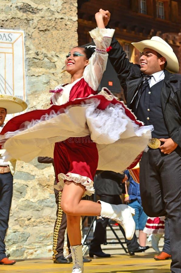 墨西哥的舞蹈演员 免版税库存照片