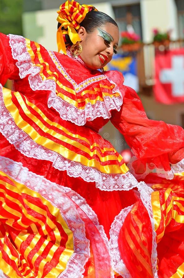 墨西哥的舞蹈演员 图库摄影