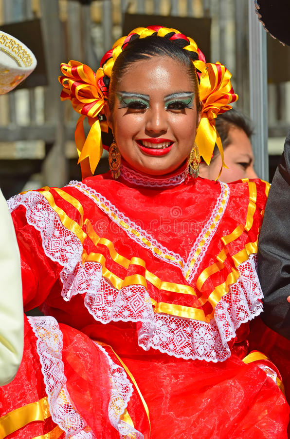 墨西哥的舞蹈演员 库存图片