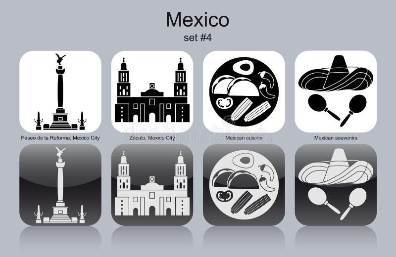 墨西哥的象 库存例证