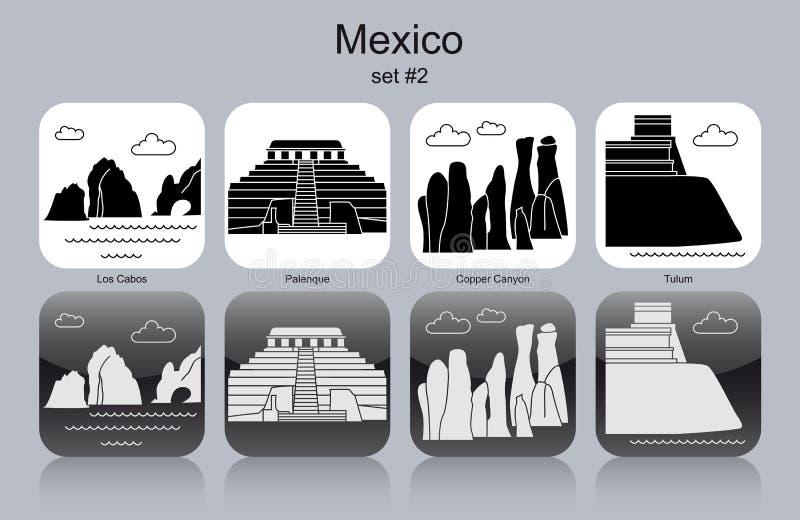 墨西哥的象 皇族释放例证