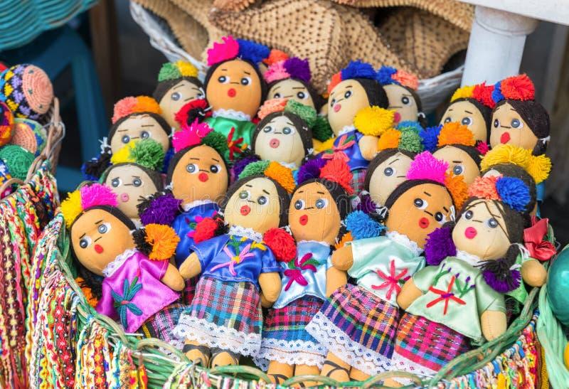 墨西哥纪念品玩偶 库存图片