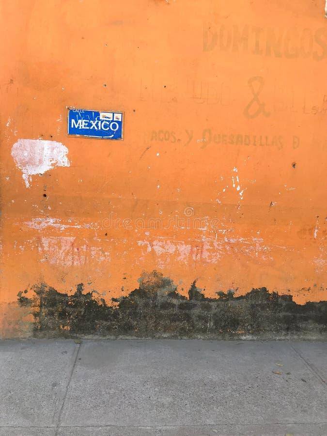 墨西哥纹理墙纸 库存图片