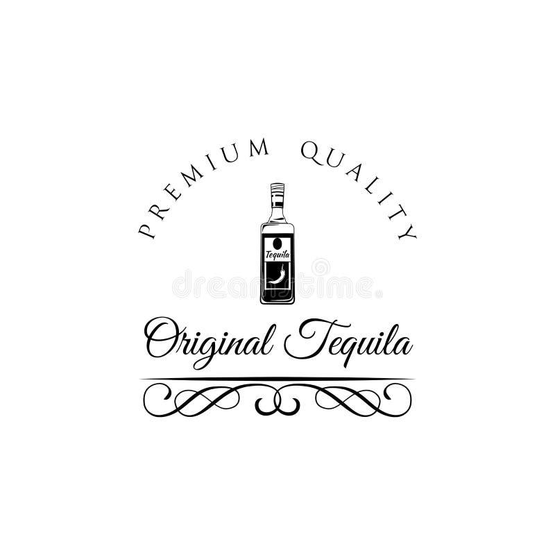 墨西哥网、海报,横幅和其他的乱画龙舌兰酒 蝴蝶 库存例证