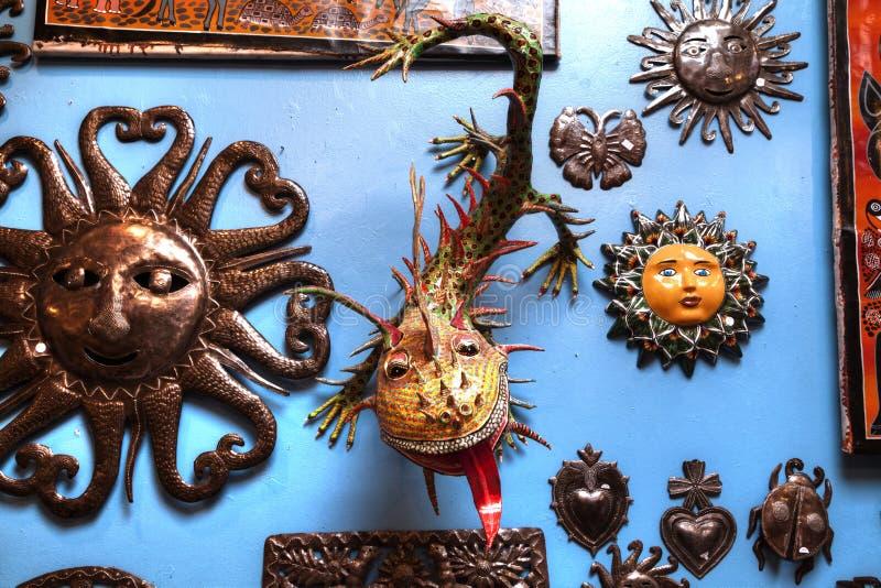 墨西哥装饰对象 库存照片
