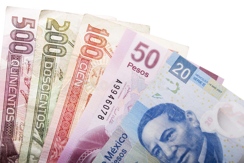 墨西哥货币 库存图片