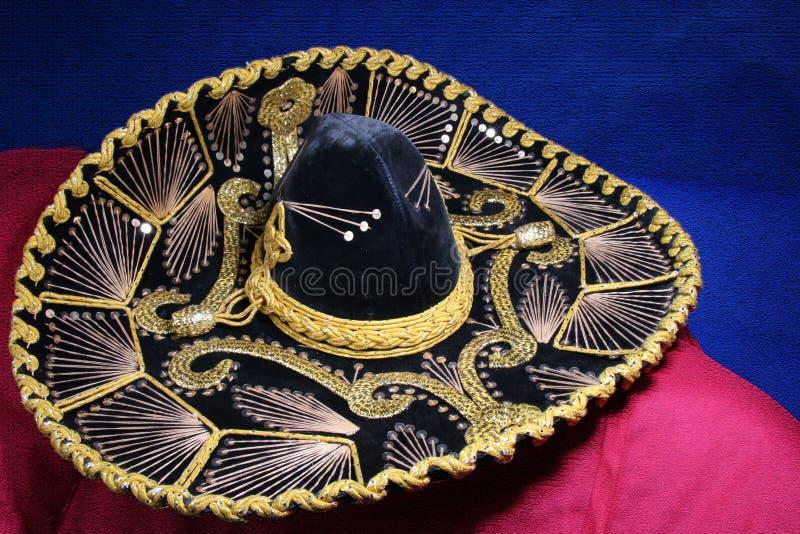 墨西哥阔边帽 免版税图库摄影