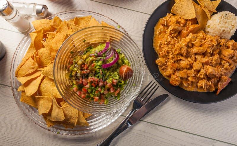 墨西哥食物 免版税图库摄影