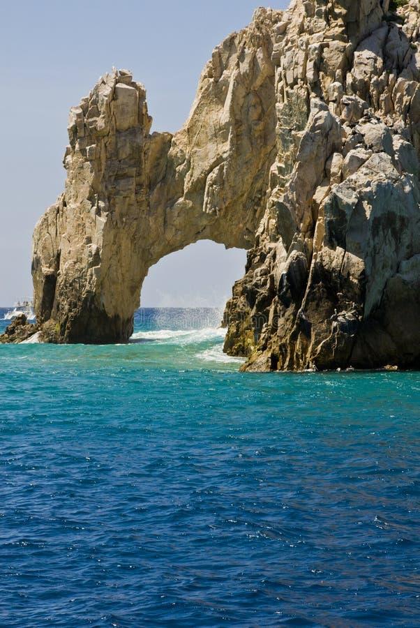墨西哥- El Arco de Cabo圣卢卡斯 免版税图库摄影
