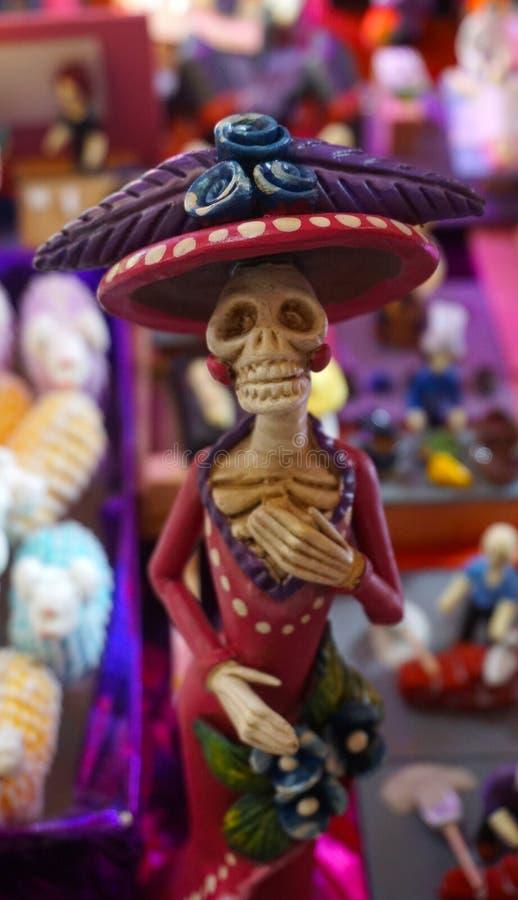 墨西哥Catrina 免版税图库摄影
