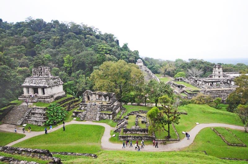墨西哥palenque 免版税库存照片