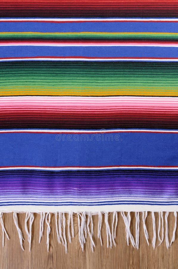 墨西哥serape毯子 免版税图库摄影