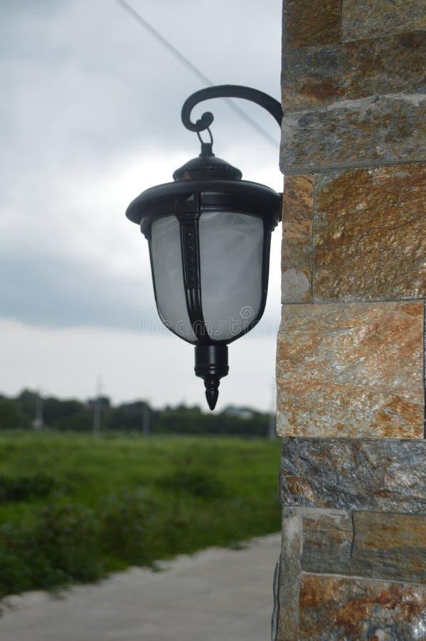 壁灯设计和装置 库存图片