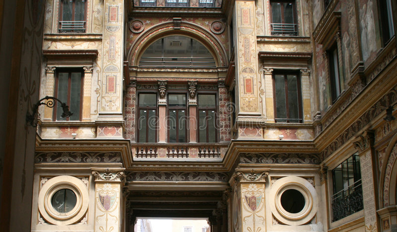壁画意大利罗马墙壁 免版税库存图片