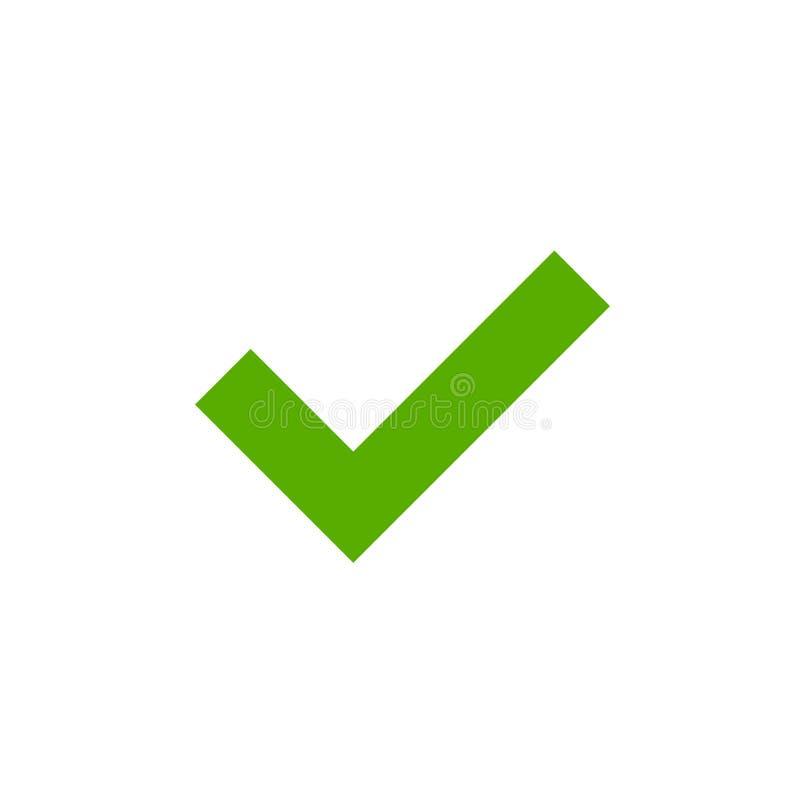 壁虱绿色标志元素 皇族释放例证