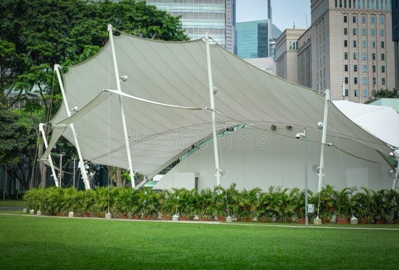 壁角洪lim公园新加坡报告人 免版税库存图片