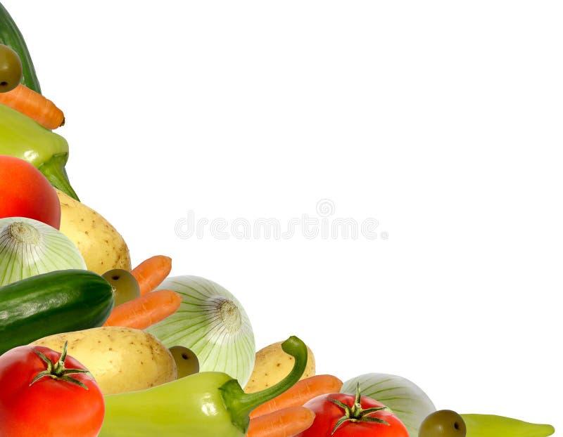 壁角蔬菜 免版税库存照片