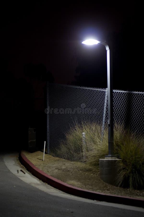 壁角黑暗的街道 库存图片