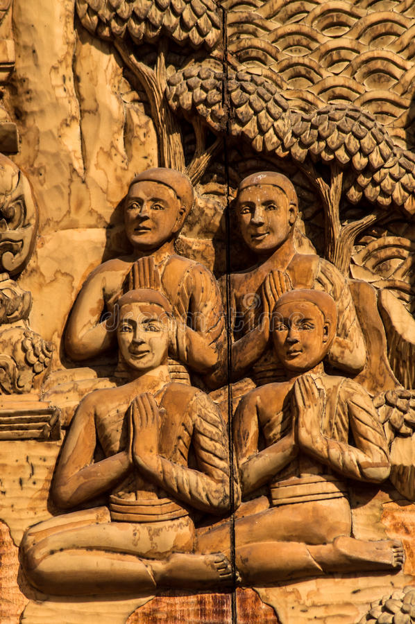 Download 壁画木头雕刻 库存照片. 图片 包括有 宗教信仰, 背包, 雕塑, 平静, 修士, 镇痛药, 佛教, 发芽 - 59106390