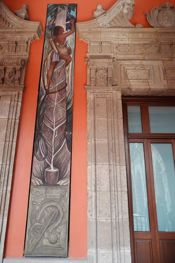 墨西哥壁画运动_壁画迭戈・里韦拉,墨西哥 编辑类库存照片. 图片 包括有 - 90045183