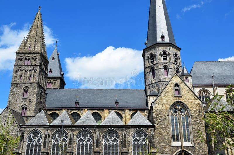 绅士和蓝天的大教堂 库存图片