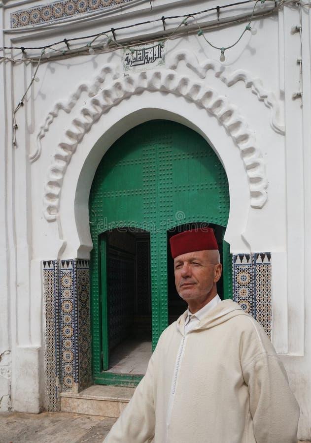 绅士在摩洛哥 免版税图库摄影