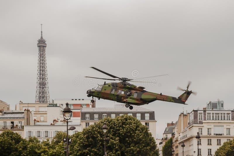 巴士底日在巴黎- 14 Juillet Ã巴黎 图库摄影