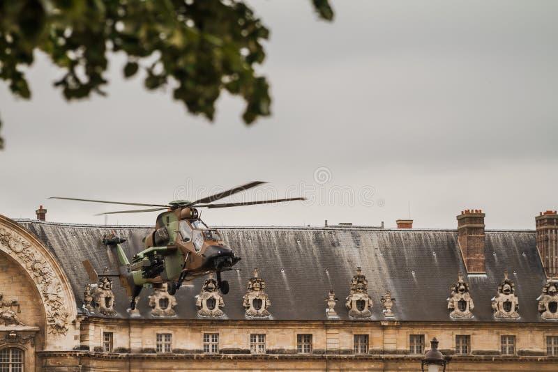 巴士底日在巴黎- 14 Juillet Ã巴黎 免版税库存照片