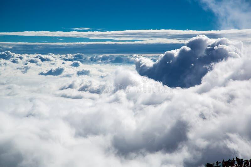 壮观的云彩 免版税库存图片