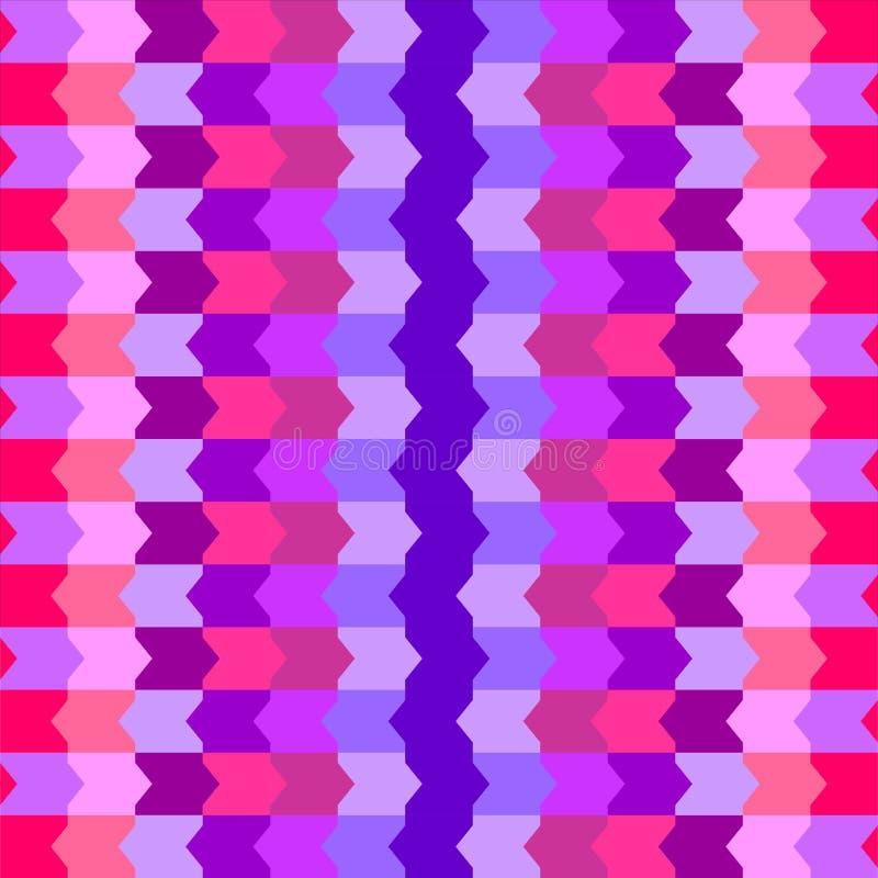壮观的抽象无缝的样式淡色图表形状纹理背景传染媒介例证 皇族释放例证