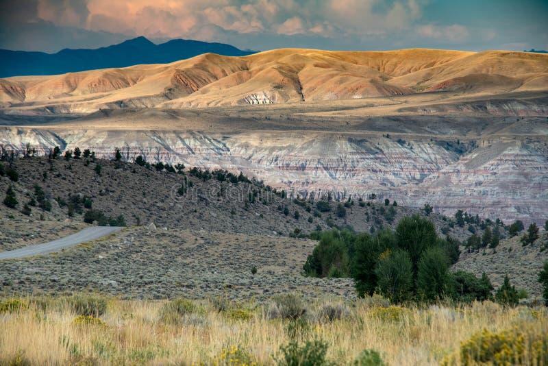 壮观的西部土地 库存照片