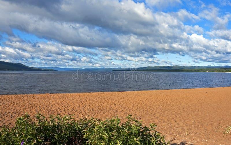 壮观的Deer湖,纽芬兰 免版税库存图片