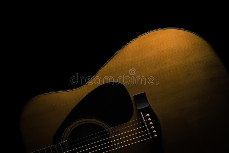 声学吉他 库存照片