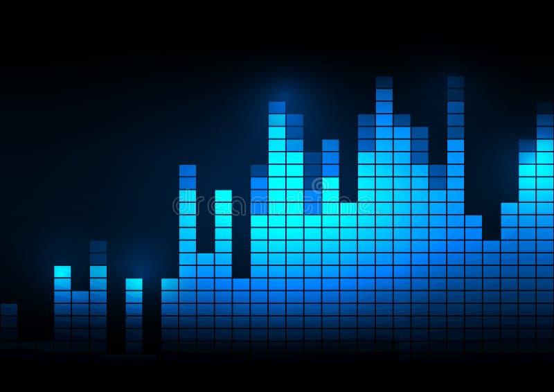 声波传染媒介例证 向量例证